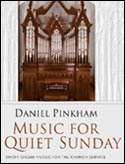 Pinkham: Music for a Quiet Sunday